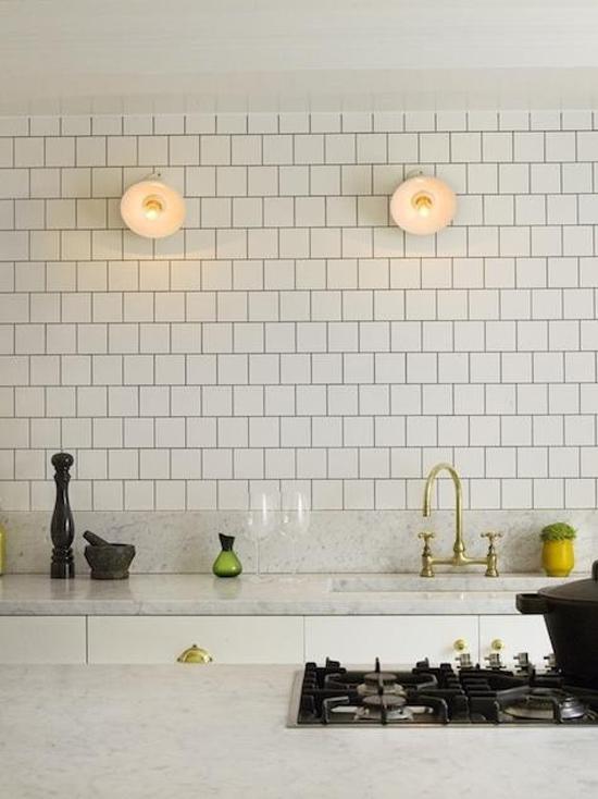 8x keuken met zelfde tegels