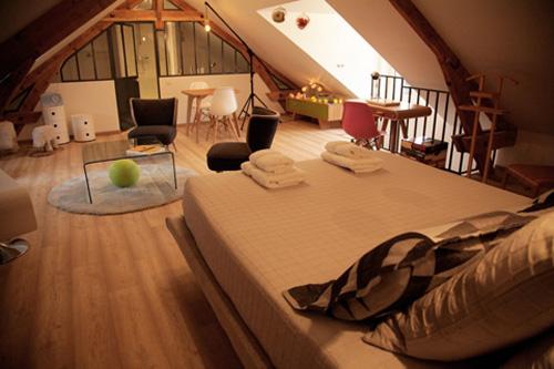 Zolderkamer van Chez Ric & Fer