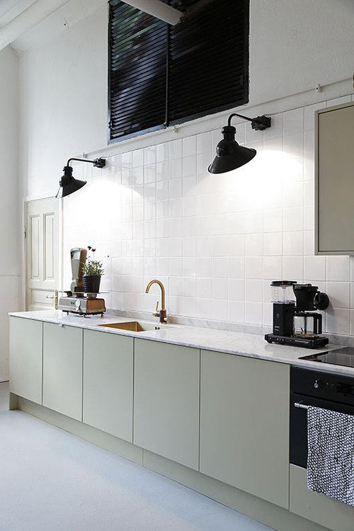 5x minimalistische keuken