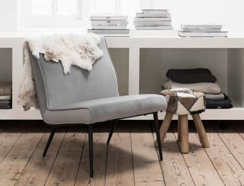 Retro velvet fauteuil Orvault