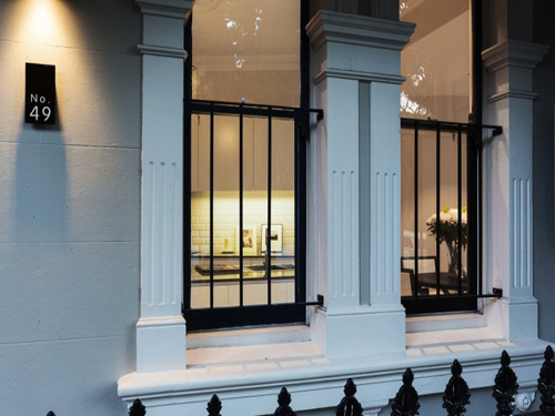Kleine klassieke woning in Sydney