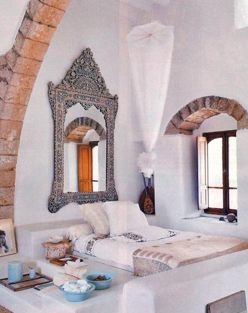 Marokkaanse slaapkamer
