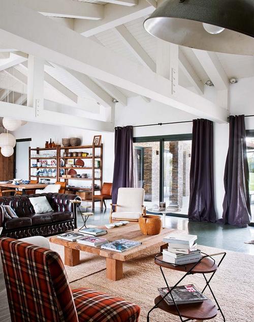 Mooi open loft woonkamer