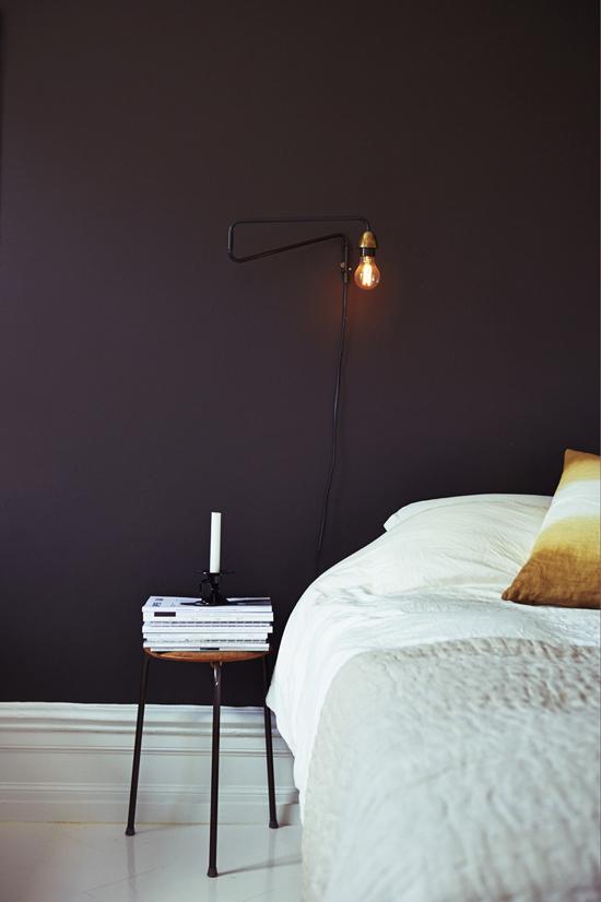 Zweedse slaapkamer