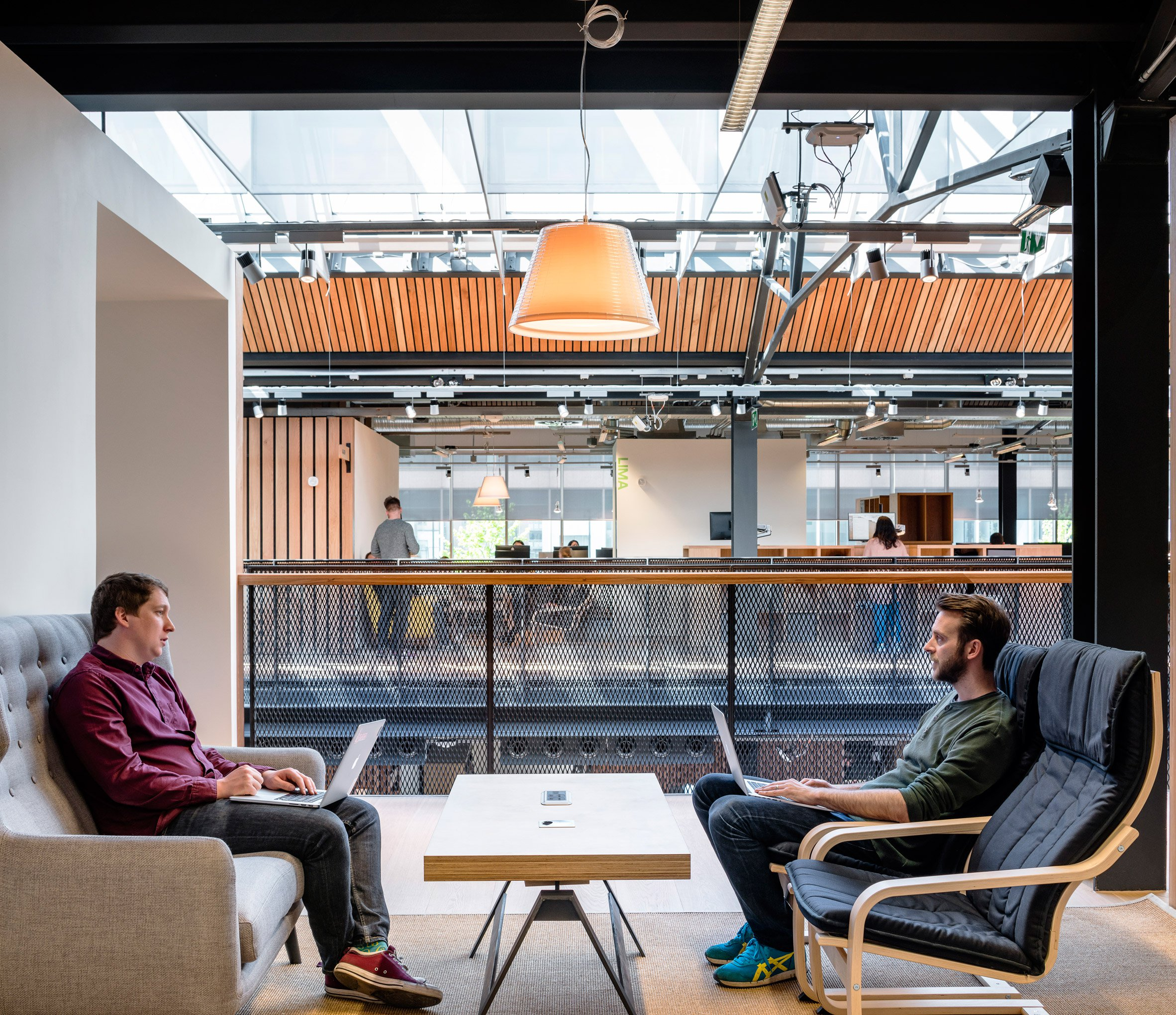 Het Airbnb hoofdkantoor in Dubliln