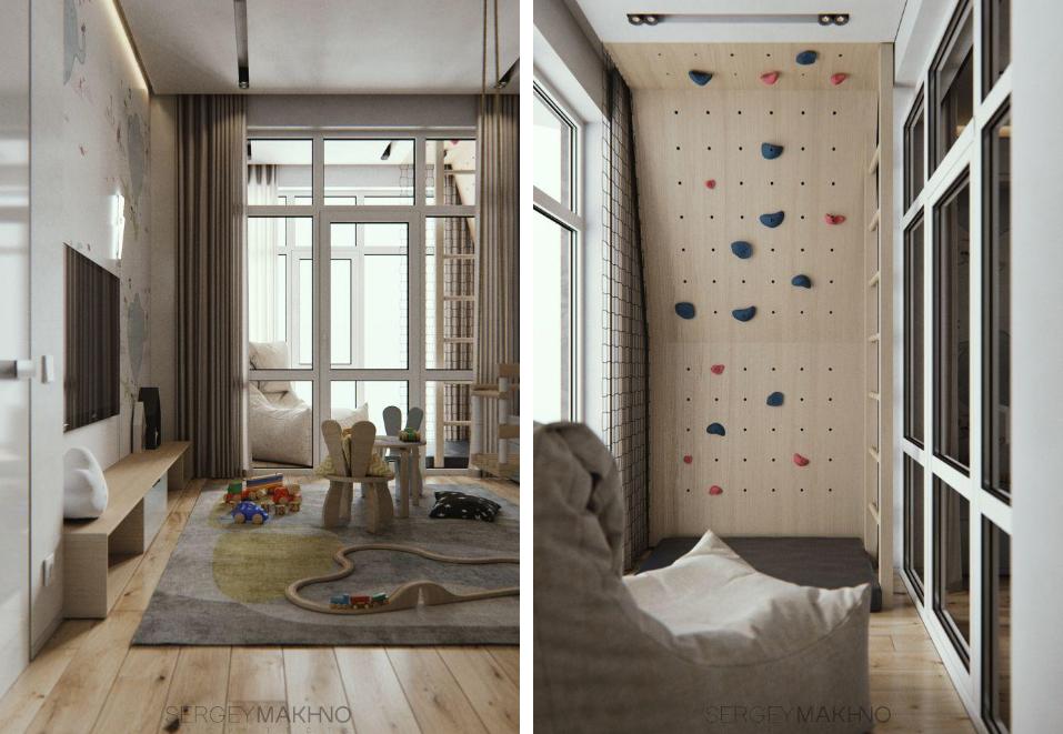 Als een architect een kinderkamer ontwerpt...