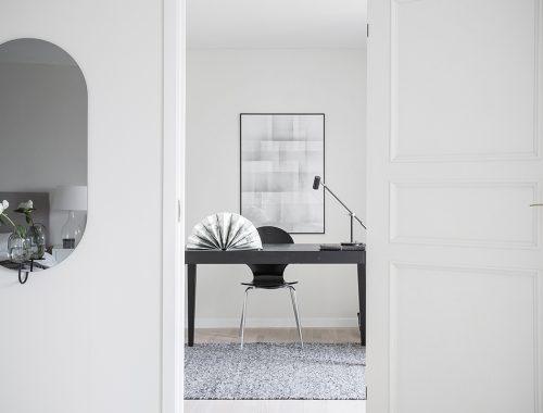 Aparte kantoor of werkplek in huis