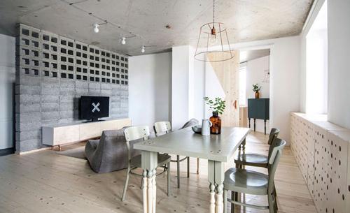 Appartement met Japanse en Scandinavische invloeden