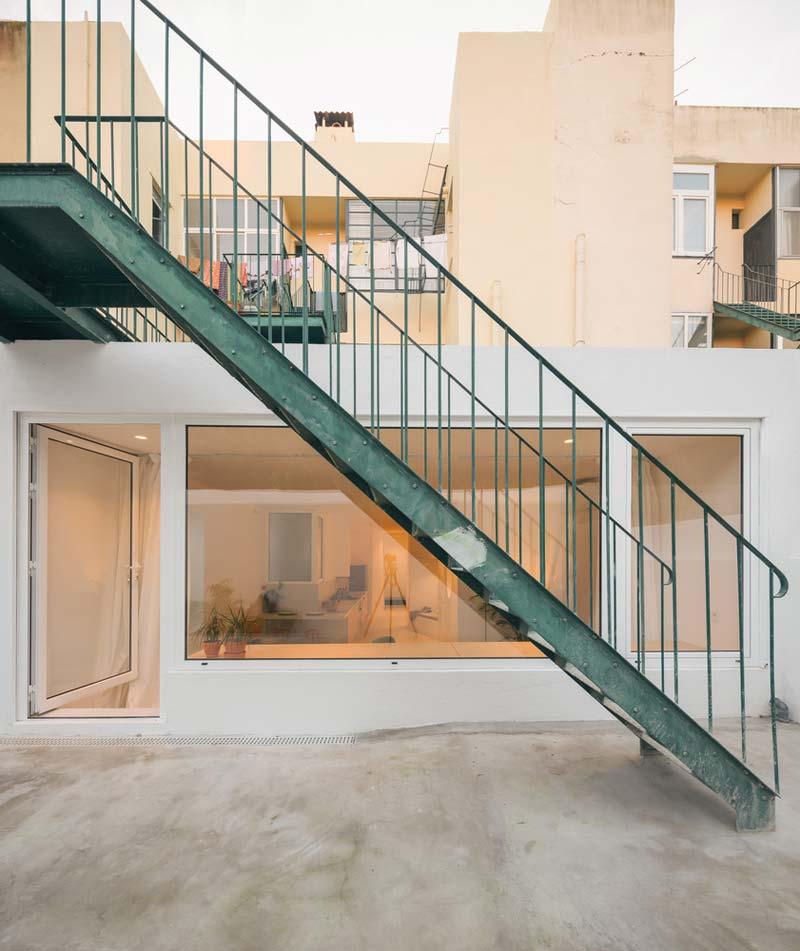 appartement uitbouw grote ramen