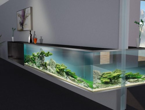 Aquarium in huis