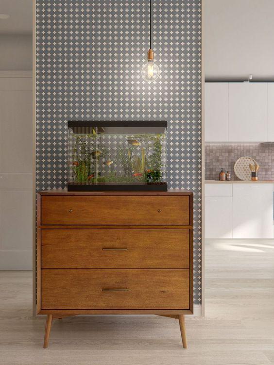 Aquarium in huis