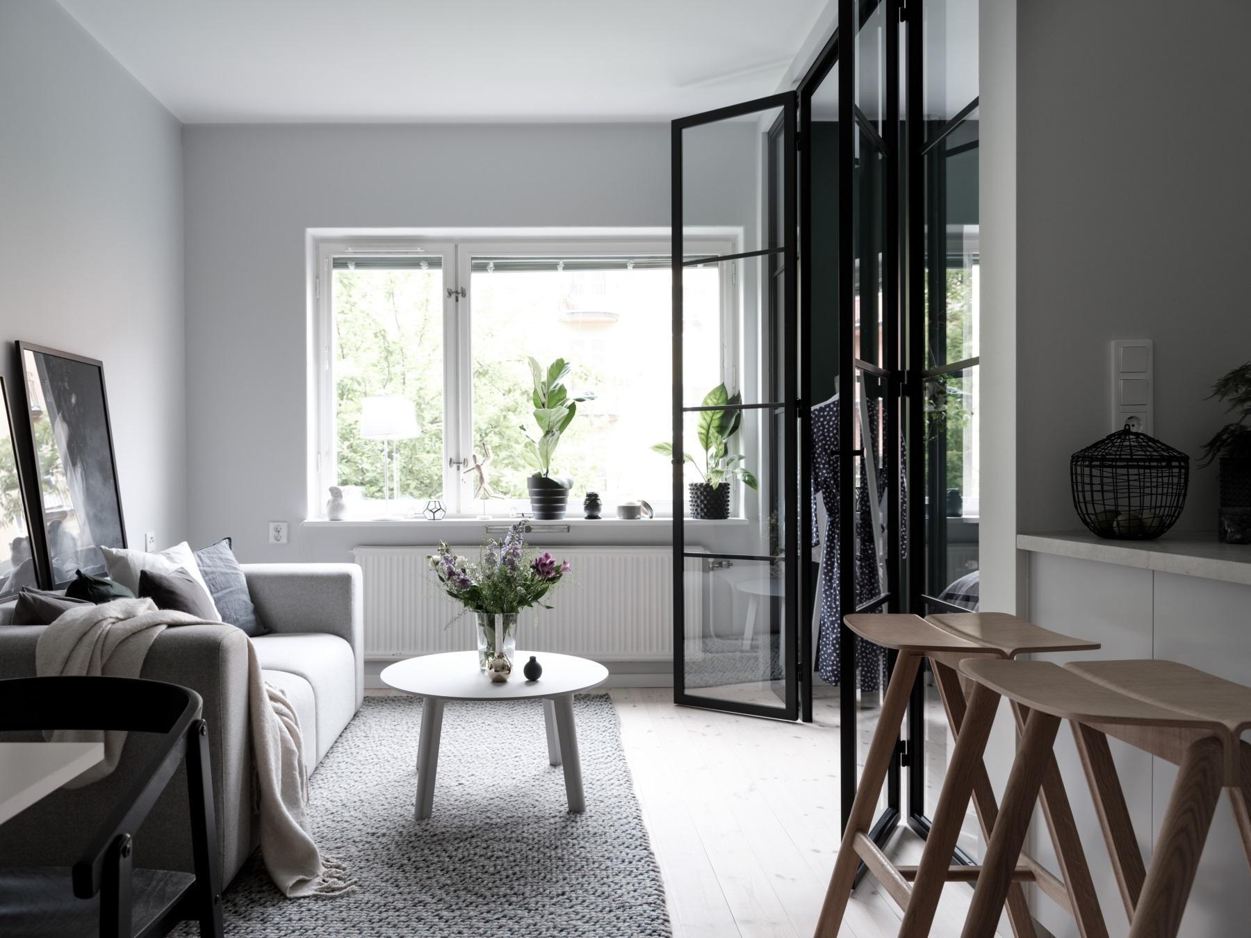 Een architect heeft dit kleine appartement van 37m2 onder handen genomen!