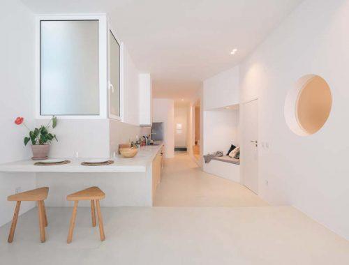artur lamas modern minimalistisch appartement van 65m2