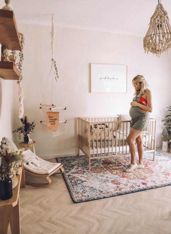 Babybox in de woonkamer