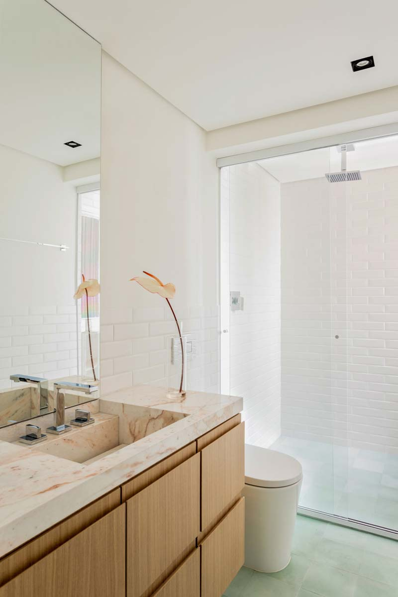 badkamer groene tegels