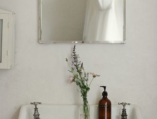 Badkamer met vintage elementen
