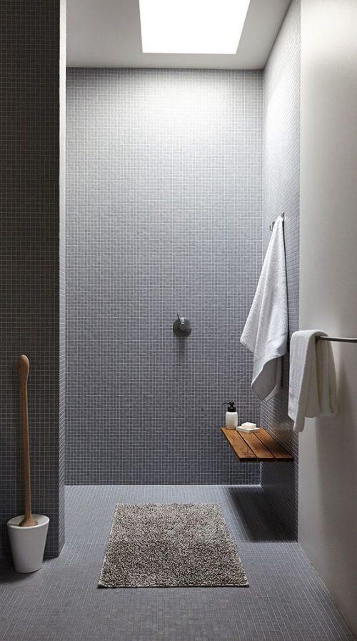 Kleine vierkante mozaïek tegels