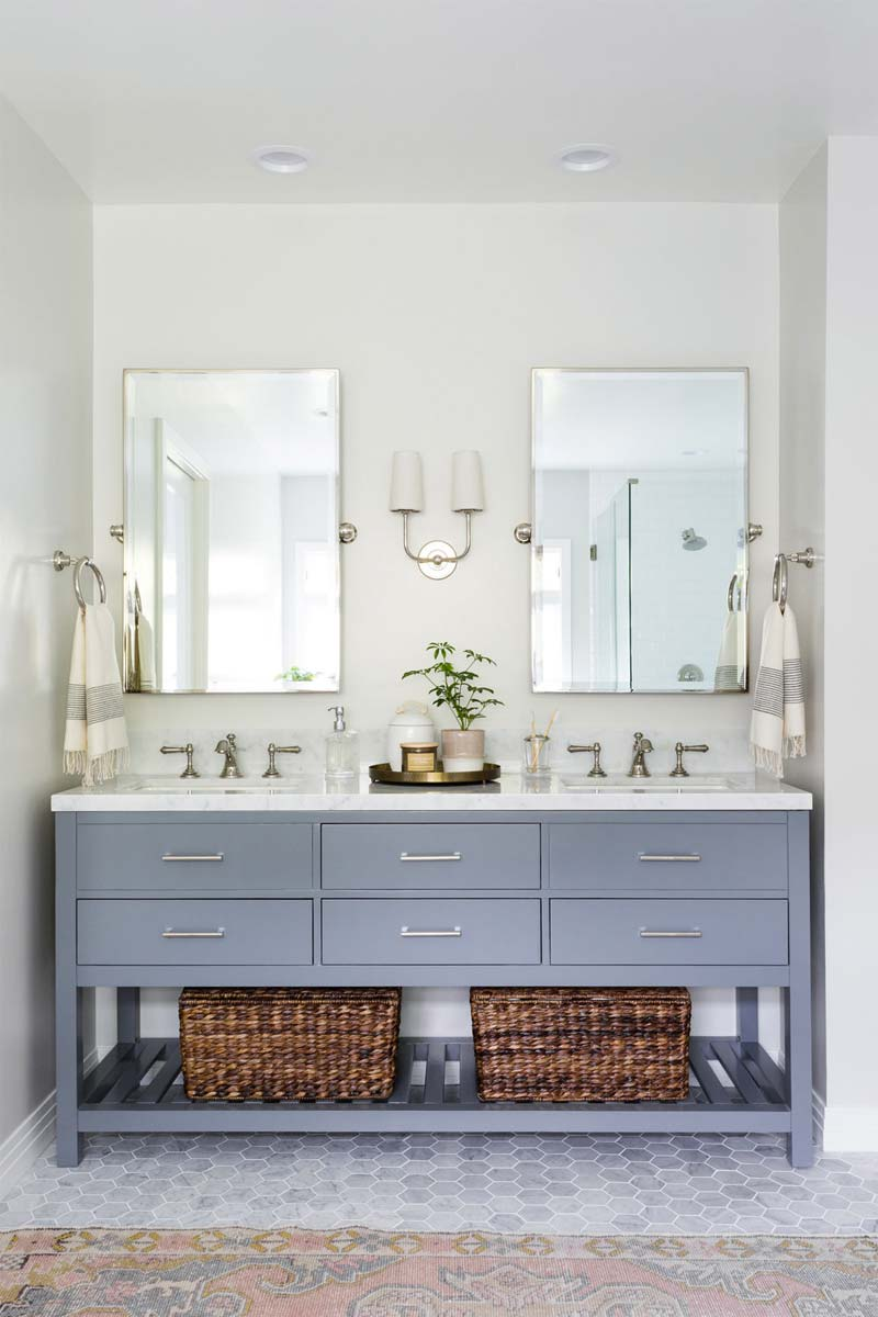 badkamer opruimen tips marie kondo opbergmanden onder wastafel