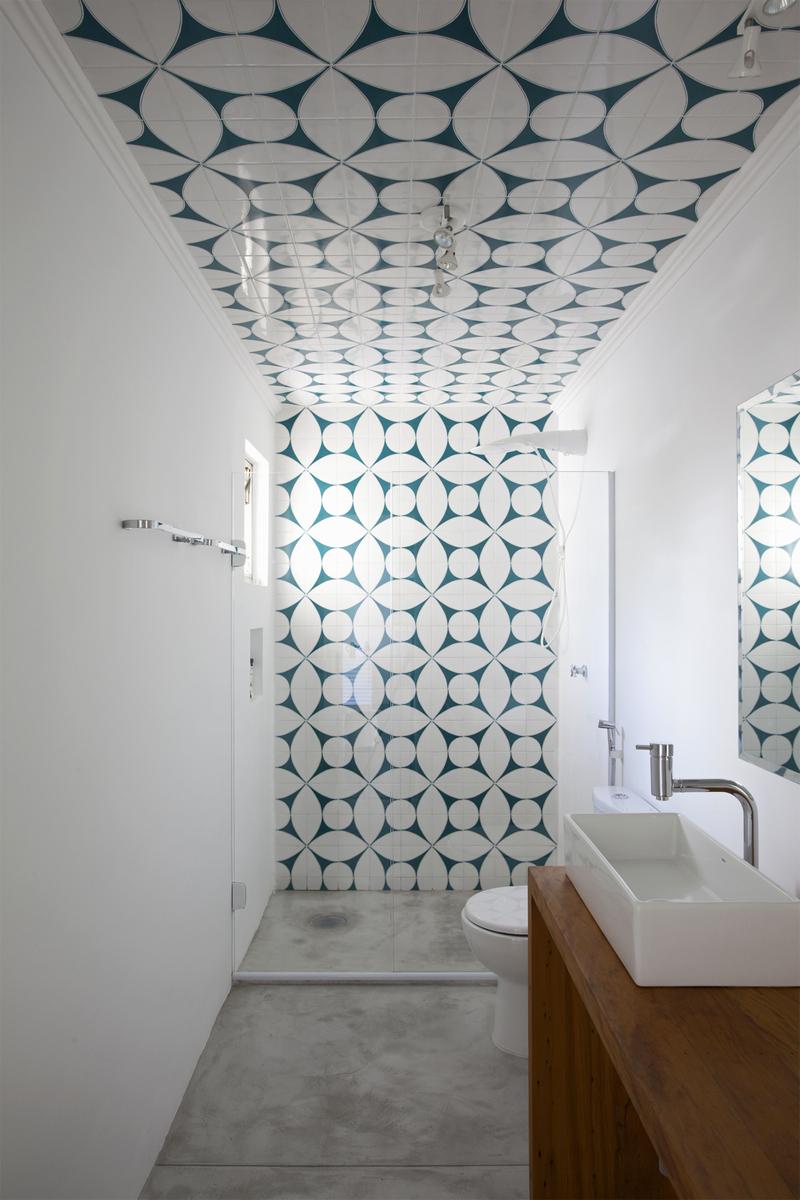 badkamer plafond tegels