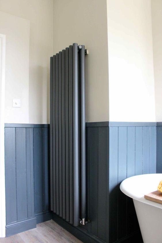 Badkamer radiator verven