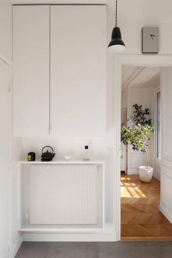 Badkamer radiatorbekleding