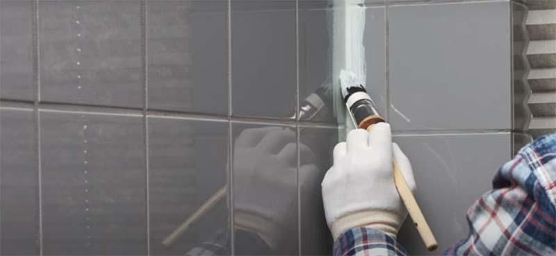 badkamer tegels verven kwast