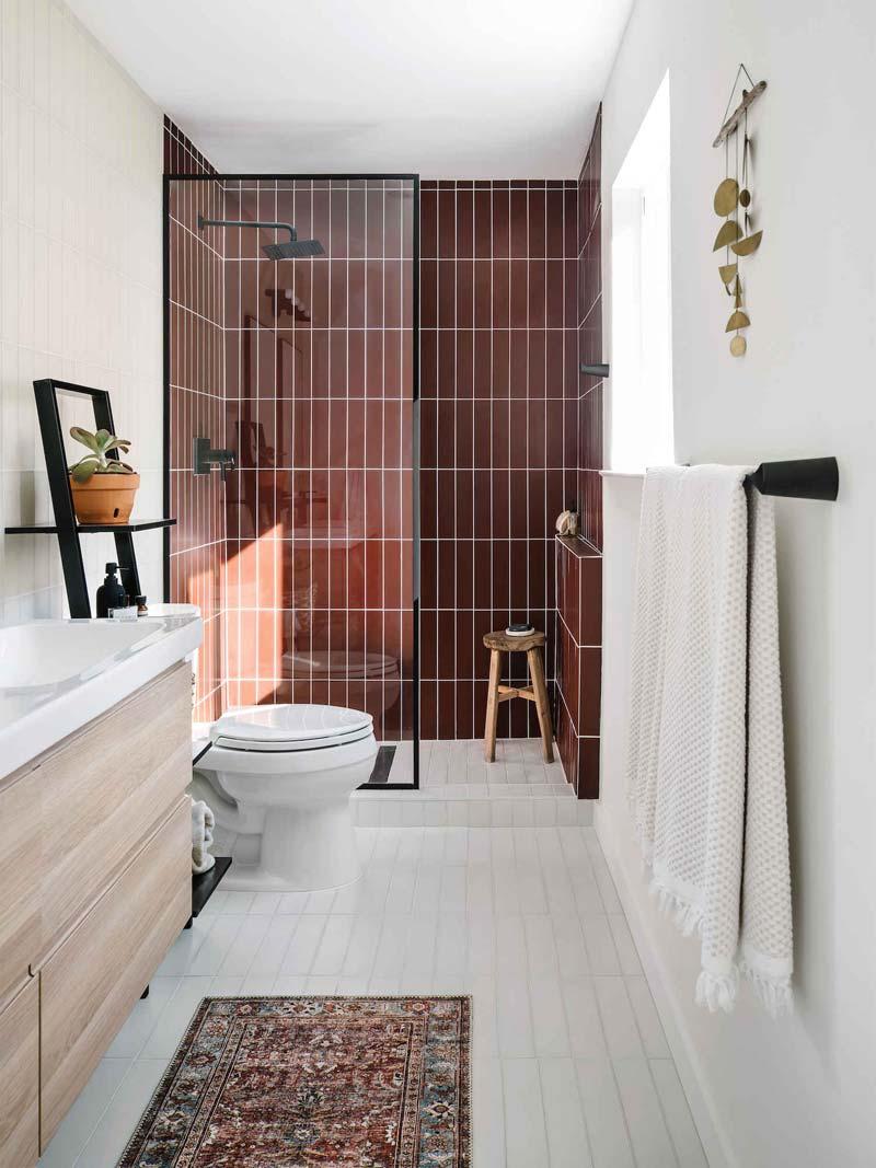 badkamer vintage vloerkleed