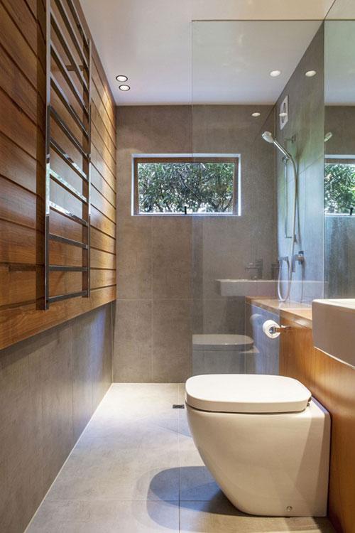 badkamers voorbeelden inloopdouche klein