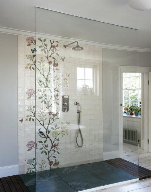 badkamers voorbeelden inloopdouche ruim