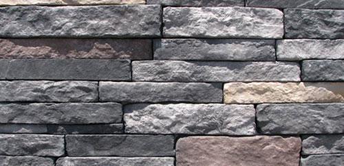Bakstenen muur strips