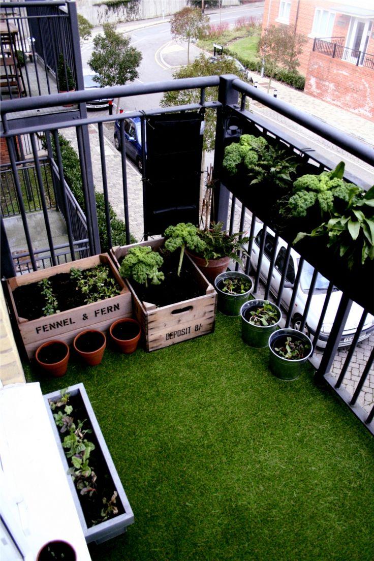 balkon ideeen kunstgras