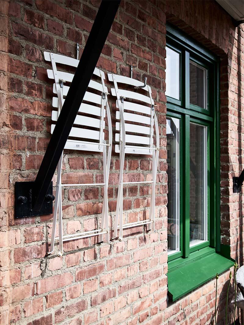 balkon ideeen reserve stoelen ophangen op balkon