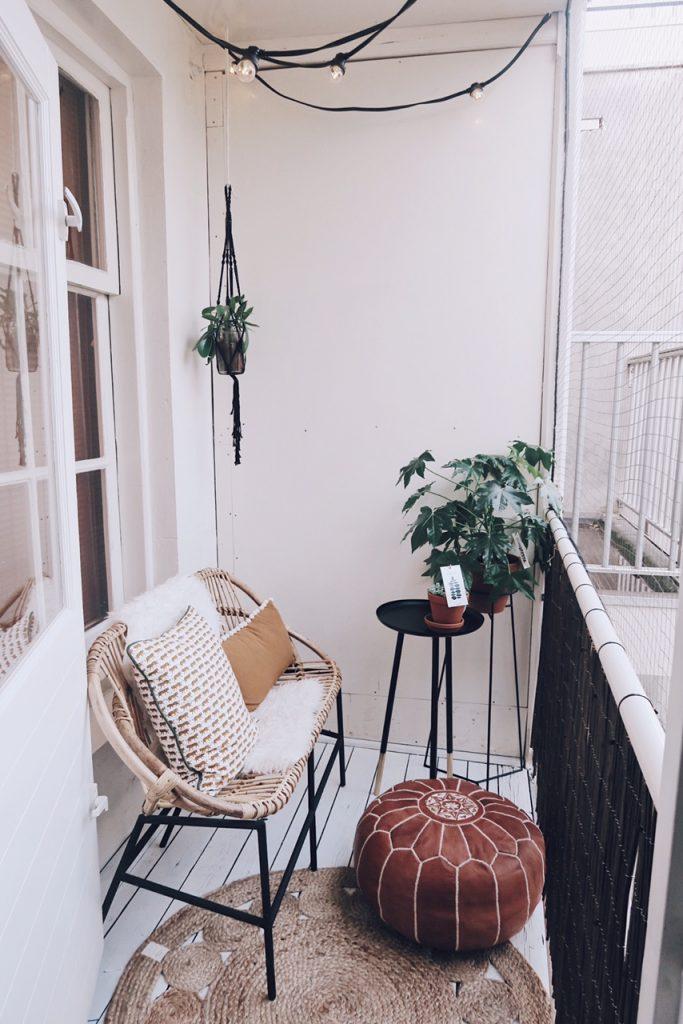 Balkon make-over van Rachel