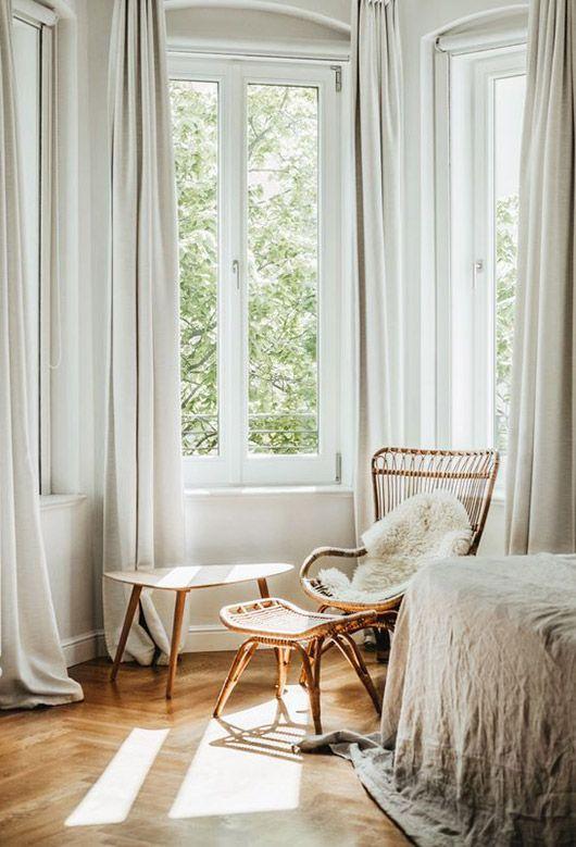 bamboe loungestoel
