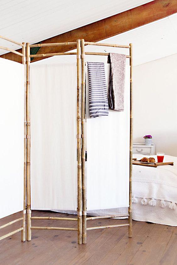 Bamboe roomdivider