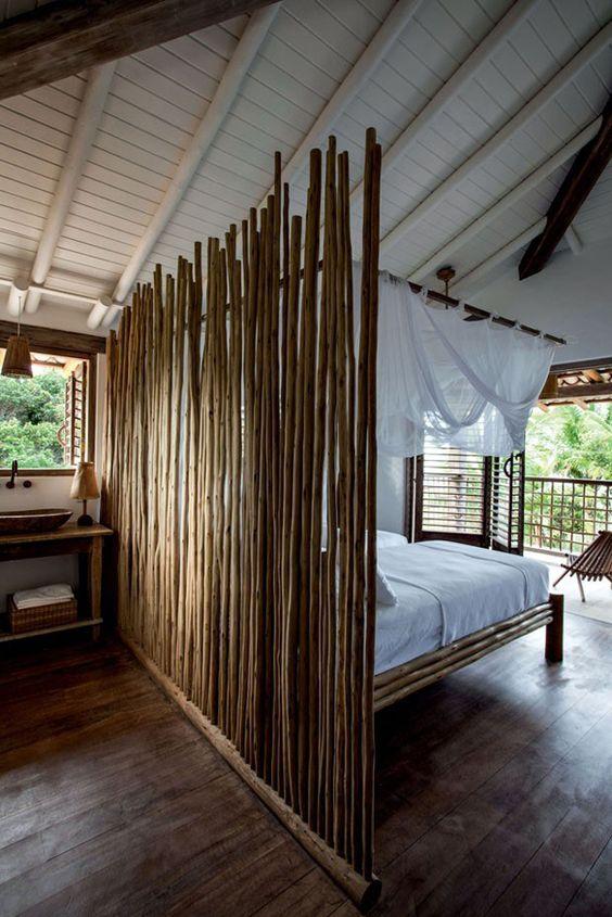 bamboe scheidingsmuur