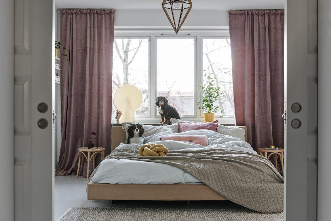 bed decoratie