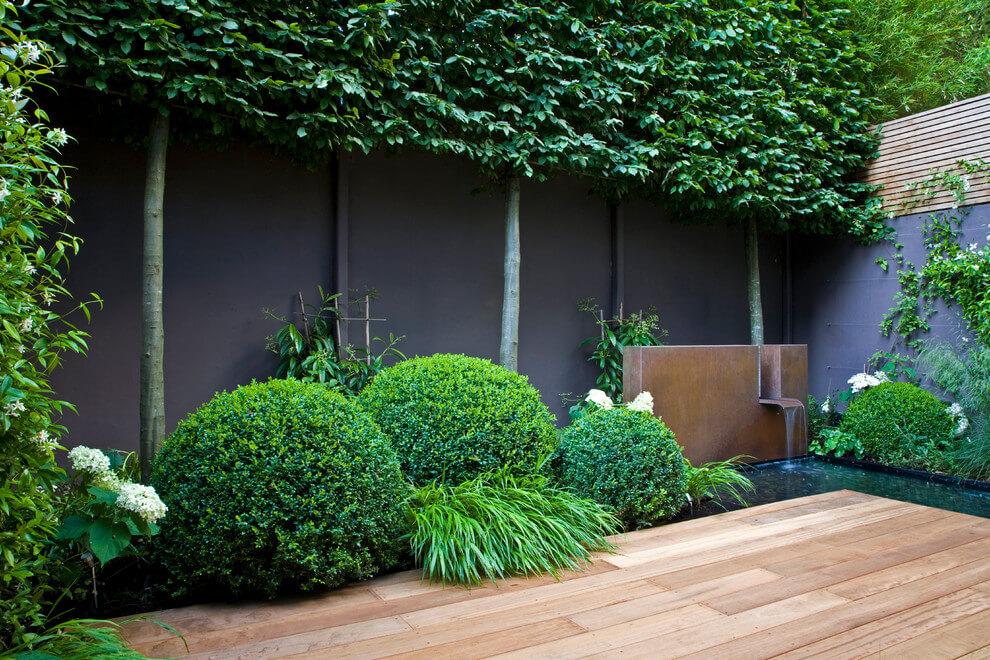 betonnen tuinafscheiding