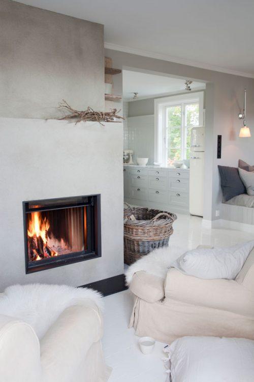 Binnenkijken in een landelijk Scandinavisch huis