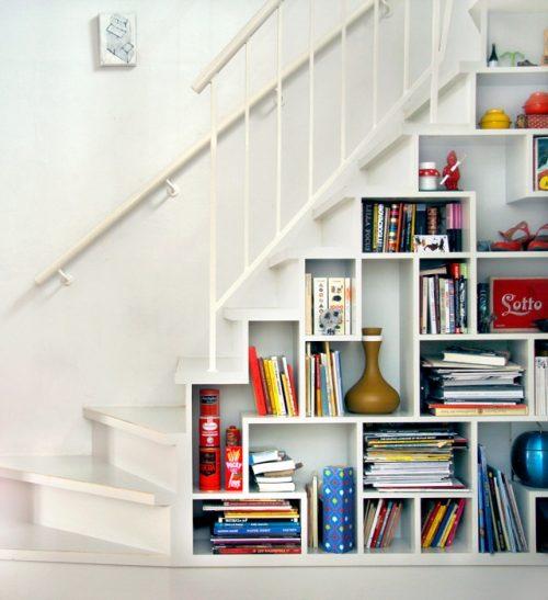 Boekenkast trapkast