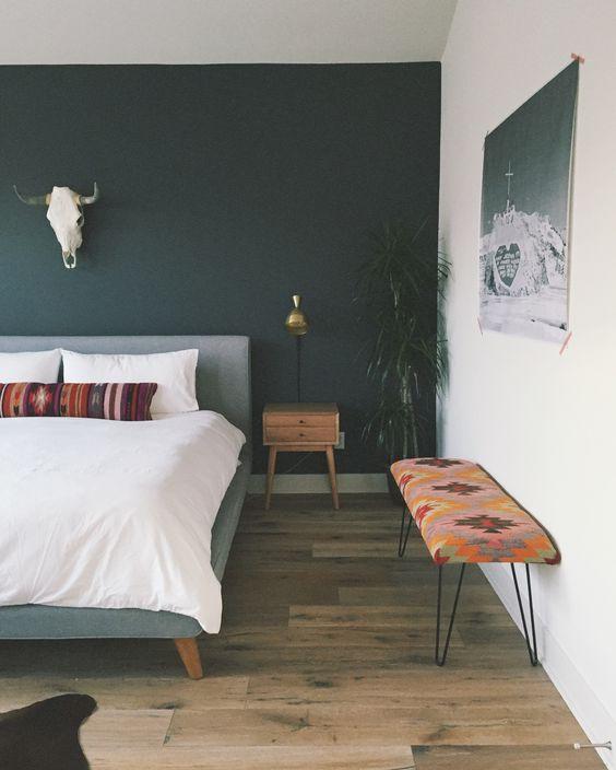 bohemian bankje slaapkamer