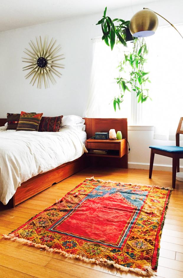 booglamp in slaapkamer