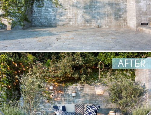 Budget tuin make-over door stylist Emily