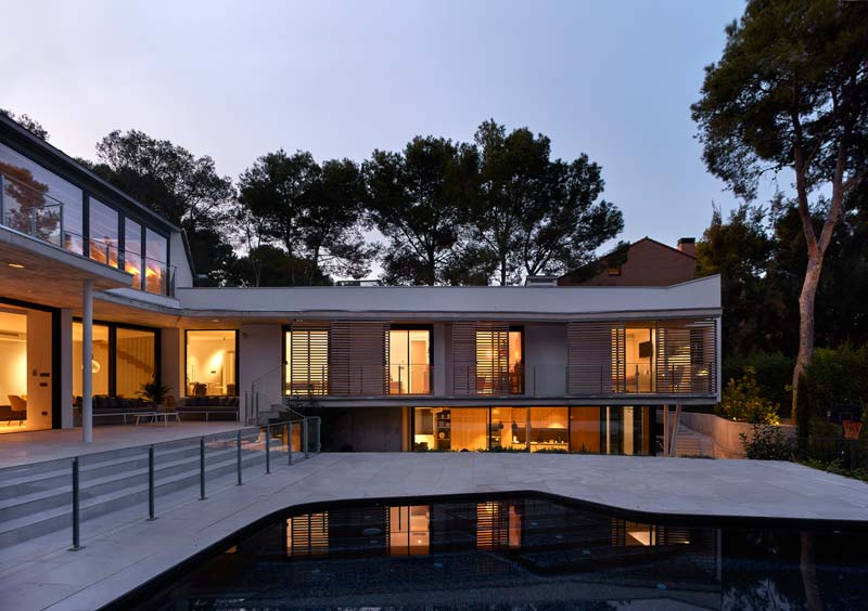 casa campo moderne woning spanje