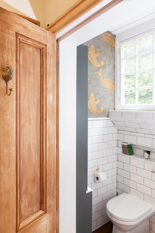 Chique badkamer verbouwing van Emily