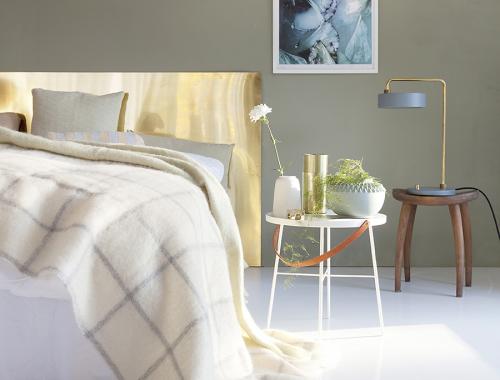 Chique slaapkamer met chique details