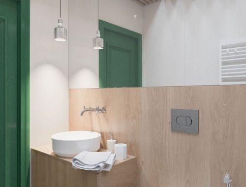 Compacte badkamer zonder douche!