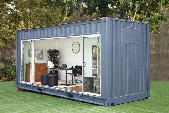 container tuinhuis kantoor