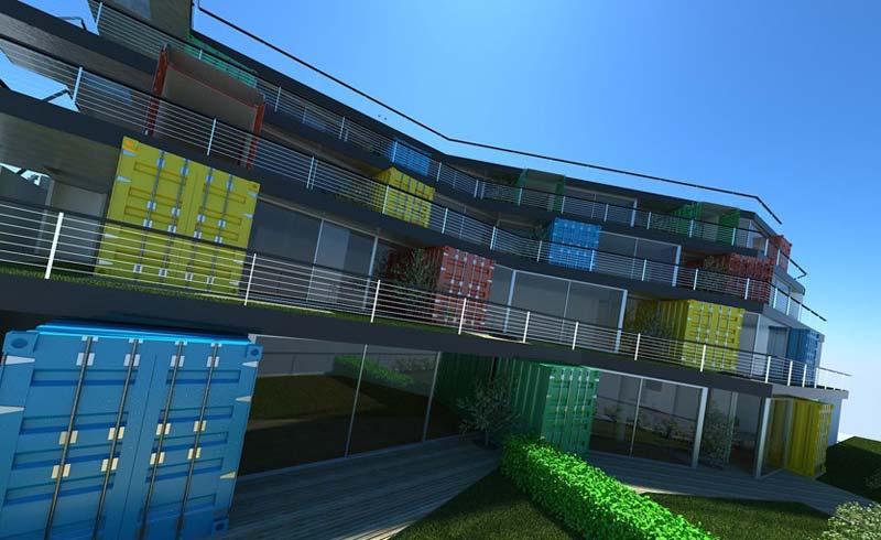 containerwoning Viña del Mar Apartments