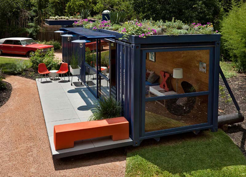 containerwoning gastenverblijf container huest house
